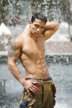 Random Hotties 3.9: Hot Men in Uniform - Fire Fighters Set 3